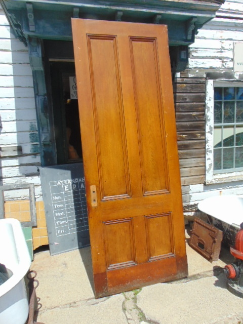 Faux Grain Wooden 4 Panel Doors