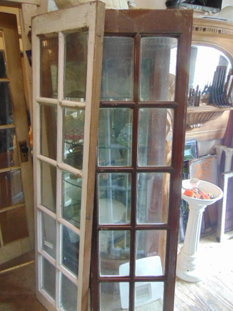 Antique Wooden Sidelights