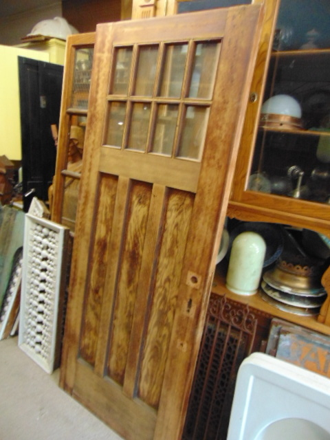 Antique 8 Light Door