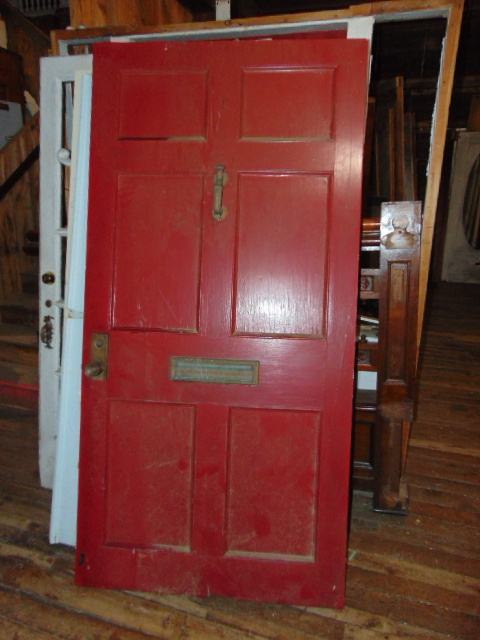 Antique Salvaged  Wide Front Door
