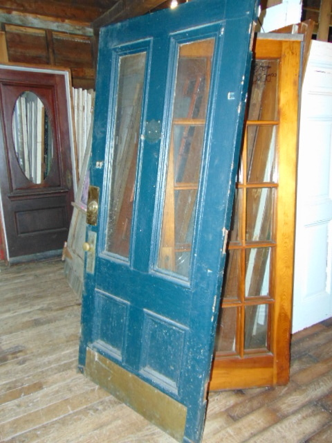 Antique Double Pane Door