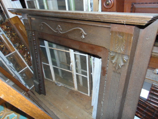 Antique Salvaged Bolection Mantel