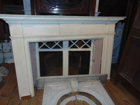 Colonial Revival Mantel