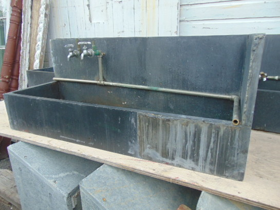 Antique Utility Sink Slate