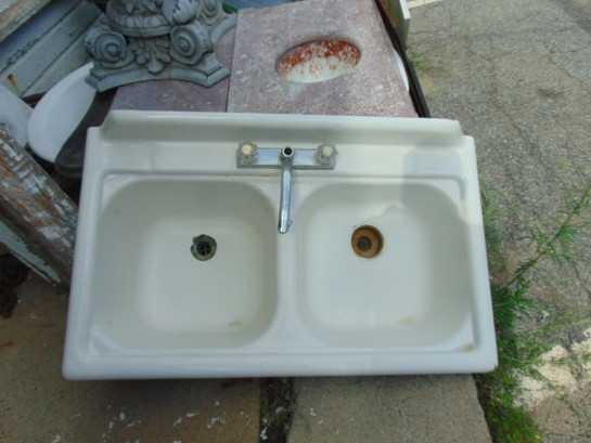 Antique Copper Sink