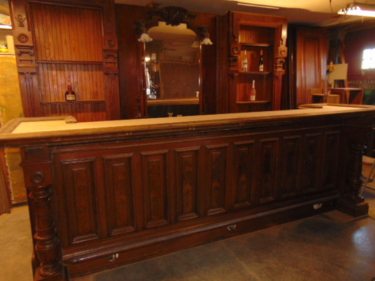 Victorian Walnut Bar