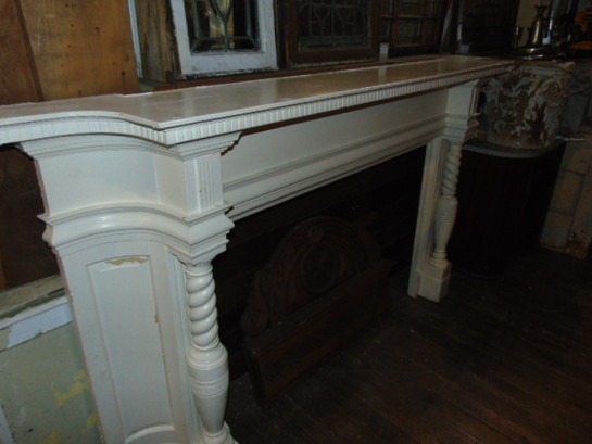 Antique Cherry Mantel Salvaged
