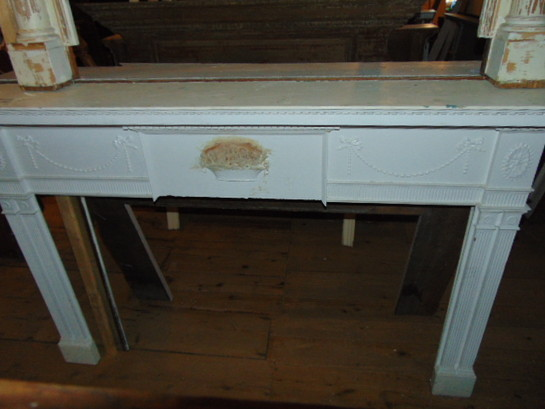 Antique Slate Mantel