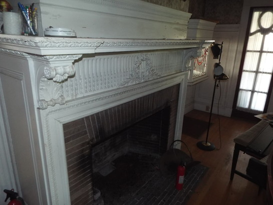 Antique Salvage Colonial Revival Mantel