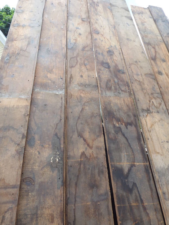 Salvaged Floor Boards Wide Pine