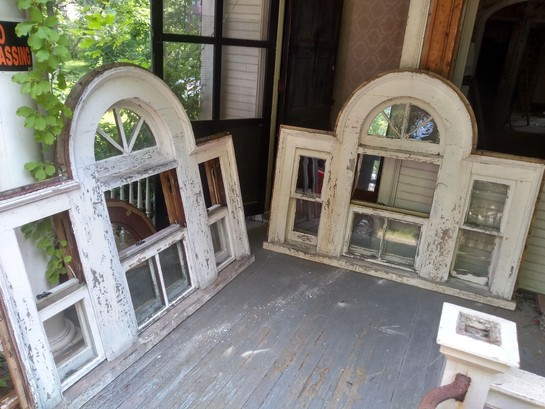 Fantastic Antique Stained Glass Windows Salvage