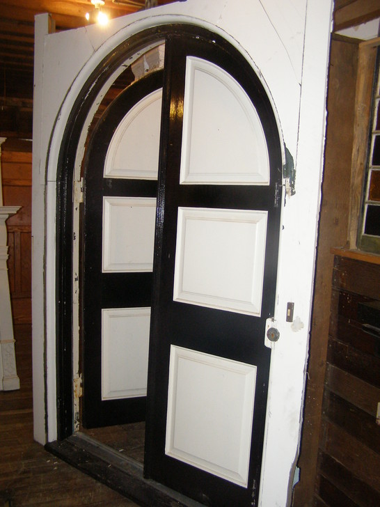 Antique Gothic Double Door